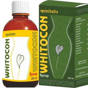 Whitocon Syrup -200Ml (Ayurvedic White Discharge Fast Relief Syrup)